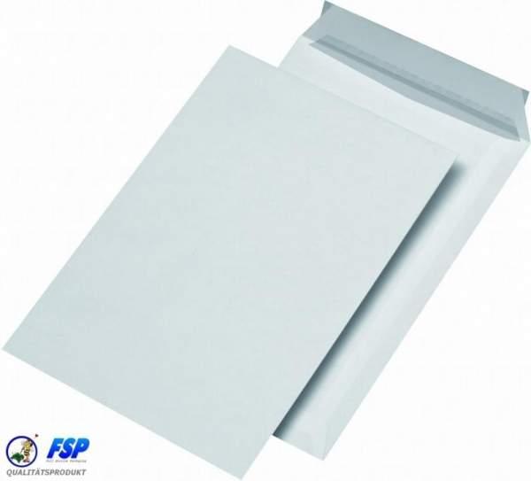Weiße DIN B5 176x250mm Safebags ohne Fenster hk (100 Stück)