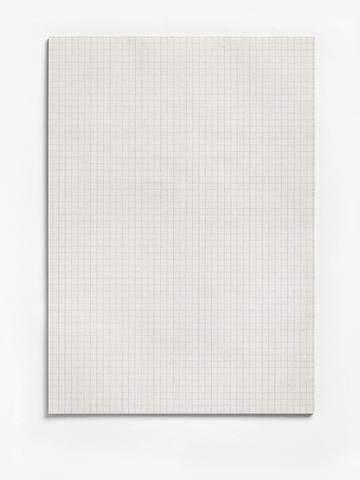 Briefblock A4 60g/m² RC grau 50 Blatt recycling ohne Deckblatt kariert