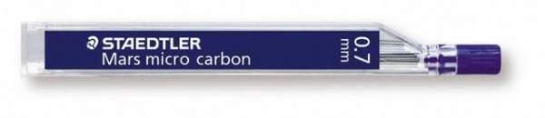Druckbleistiftmine Mars® micro carbon Minen-Ø 0,7mm 2B Pckg. á 12 St.