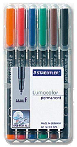 Projektionsschreiber Lumocolor 317 permanent M 6er-Etui