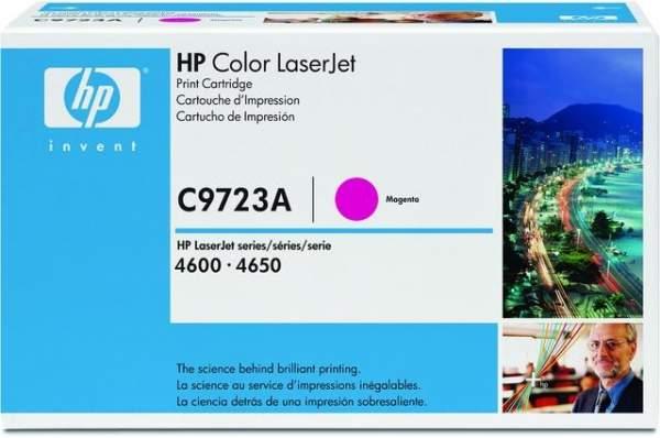 Toner HP C9723A magenta 8.000 Seiten f. LaserJet 4600