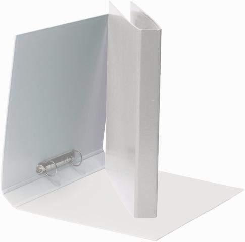 Ringbuch A4 2-Ring-Reißmechanik Ring-Ø 25 mm weiß / 1 St.
