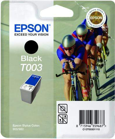 Tintenpatrone Epson C13T00301110 schwarz 34ml 1.200 Seiten