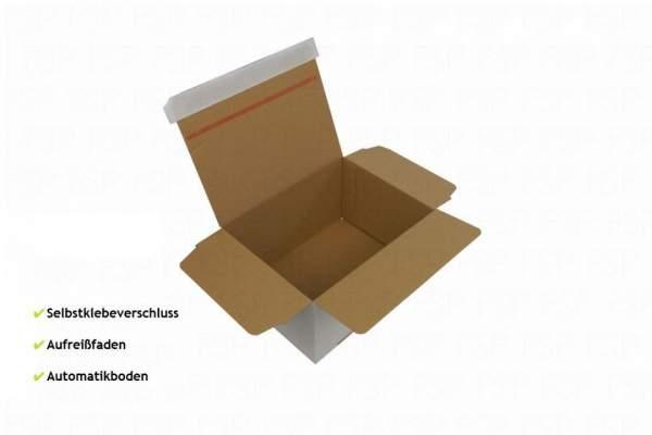 Selbstklebender Karton mit Automatikboden