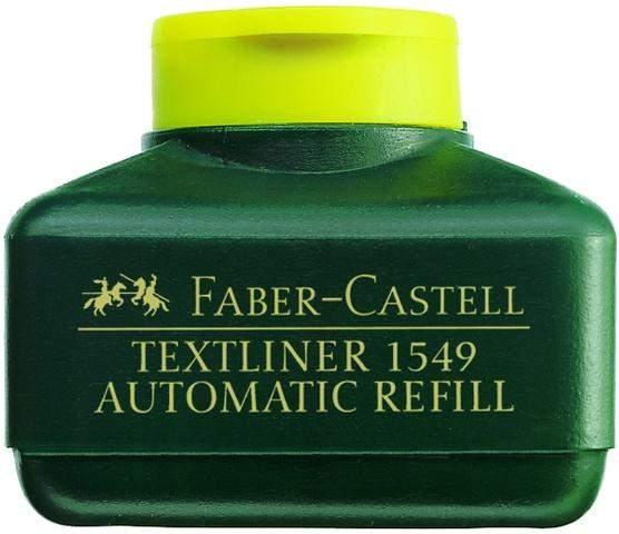 Nachfülltusche Faber Castell 1549 Textliner-Automatic 30ml gelb