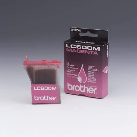 Tintenpatrone Brother LC600M original ca. 450 Seiten magenta / 1 St