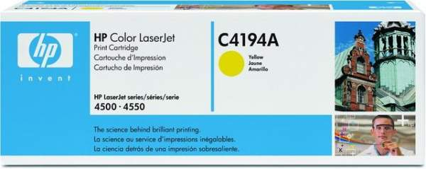 Toner HP C4194A gelb yellow 6.000 Seiten f. Color LaserJet 4500