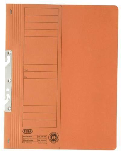 Einhakhefter Elba 22451 kfm. Heftung 250g 1/2 Vorderd. orange
