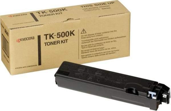 Toner Kyocera TK-500K schwarz 8.000 Seiten für FS-C5016N