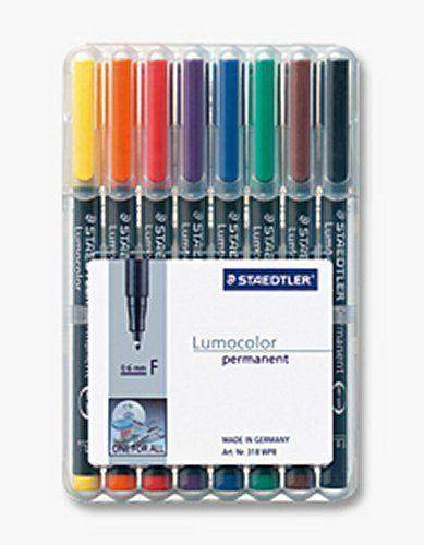 Projektionsschreiber Lumocolor 318 permanent F / 8er-Etui