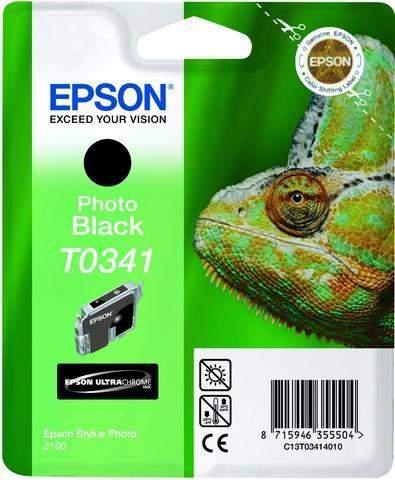 Tintenpatrone Epson C13T03414010 schwarz 17ml 628 Seiten