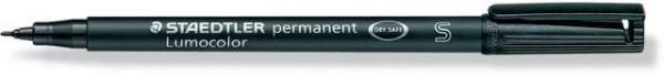 Projektionsschreiber OHP-Stift Lumocolor 313 perm S 0,4mm schwarz