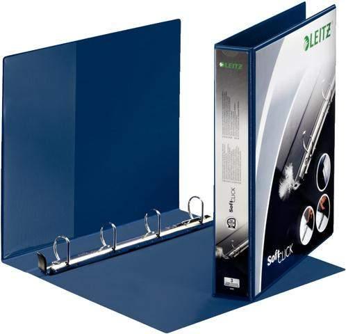 Ordner Präsentationsringbuch Leitz Soft Click A4 Ring-Ø 30mm blau /1 St.