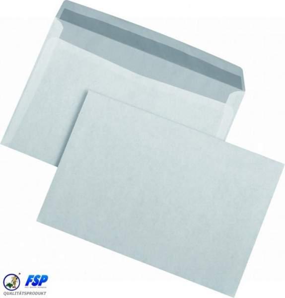 Weiße 105x215mm Rückantworthüllen ohne Fenster nk (1000 Stück)