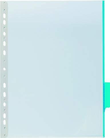 Sichttafel A4 hoch mit 60mm Tab blau DURABLE 1 Stück