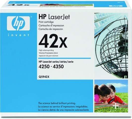 Toner HP 42X Q5942X schwarz 20.000 Seiten
