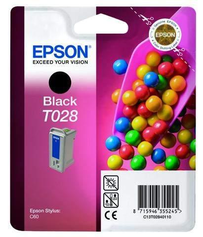 Tintenpatrone Epson C13T02840110 17ml orginal schwarz / 1 St.