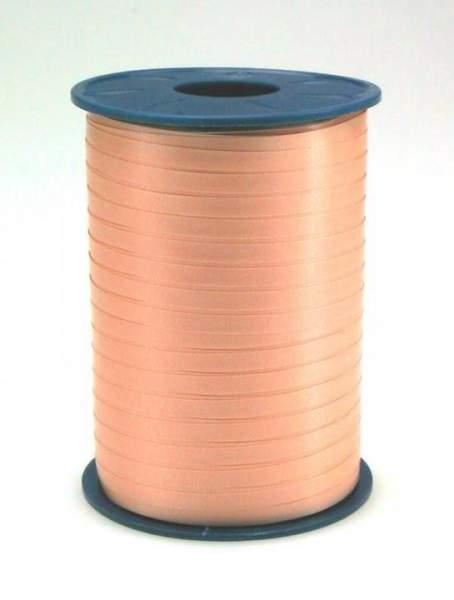 Geschenkband Ringelband 5mmx500m Apricot Lachs 34