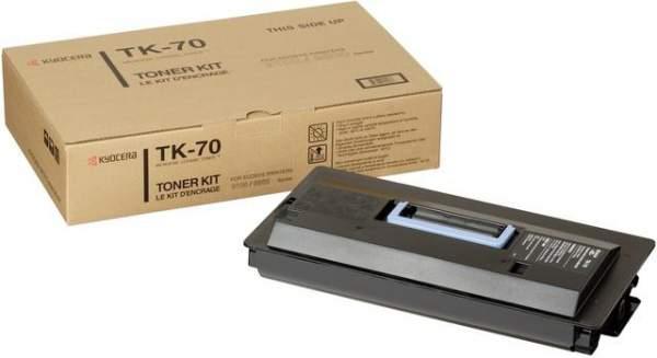 Toner Kyocera f. FS-9100/9500 TK-70 schwarz 40000Seiten original