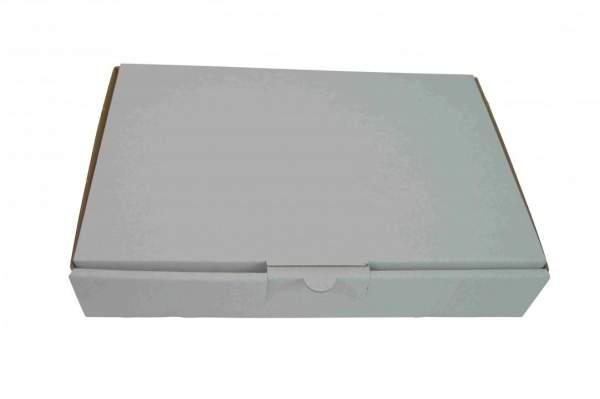 240x160x45mm Maxibriefkarton MB2A-W Weiß Postverpackungen
