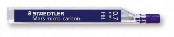 Druckbleistiftmine Mars® micro carbon Minen-Ø 0,7mm HB Pckg. á 12 Stück